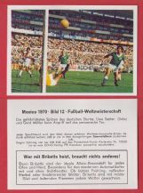 West Germany v Peru Uwe Seeler Gerd Muller 12